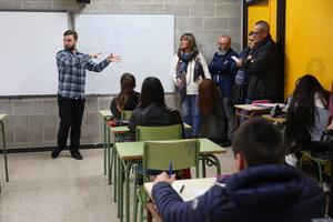 Tot l'alumnat de 4t d'ESO de l'Hospitalet ja conversa en anglès