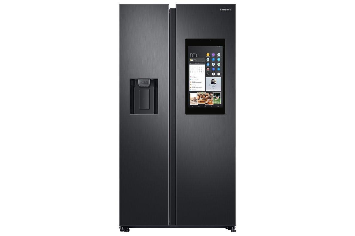 Nueva serie de electrodomésticos conectados. Frigorífico, de Samsung.