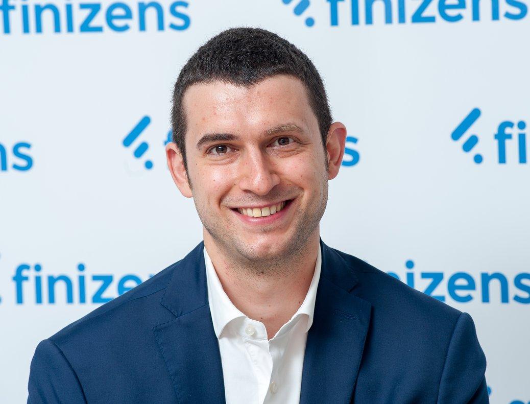 Giorgio Semenzato es CEO y co fundador del gestor de patrimonios automatizado Finizens