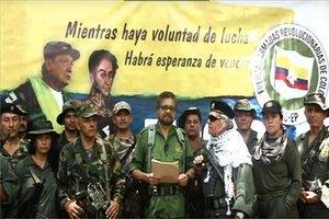 Un grupo de guerrilleros en Colombia anuncia su regreso a las armas.