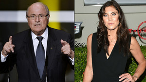 La portera Hope Solo acusa Blatter d'assetjament sexual