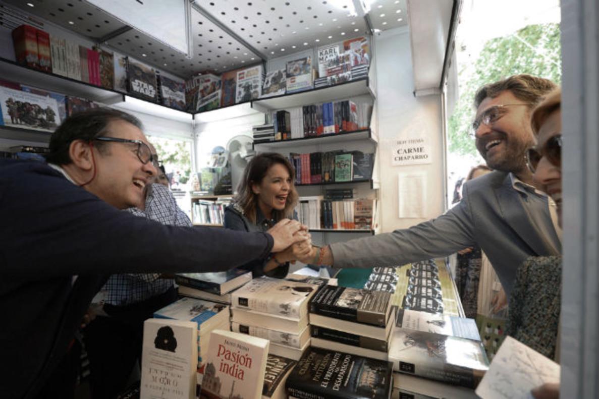 Màxim Huerta, en la Feria del Libro de Madrid.