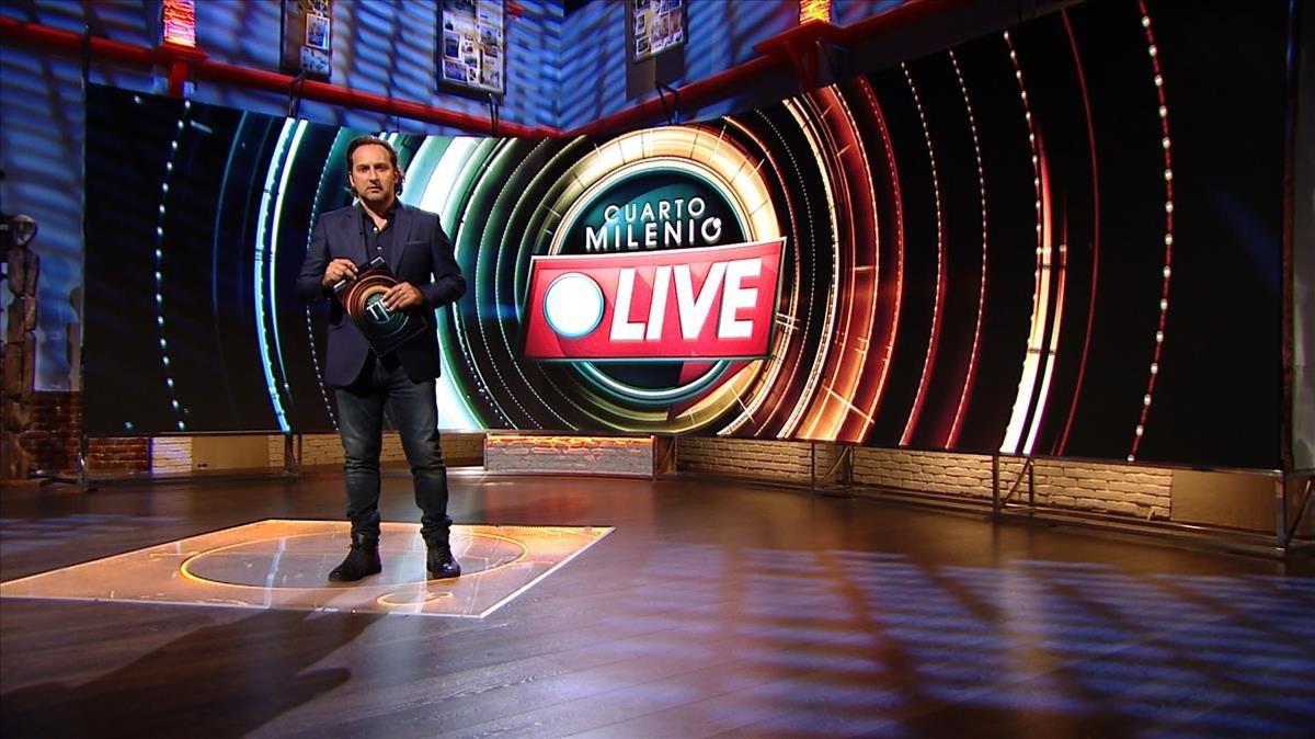 'Cuarto milenio' inicia la 15a temporada amb un programa en directe
