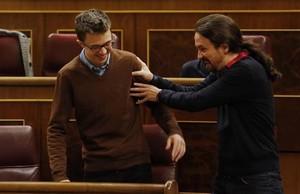 """Iglesias a Errejón: """"Ni media tontería"""""""