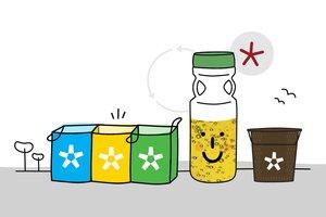 Los lotes para reciclar los residuos domésticos se entregarán de forma gratuita hasta agotar existencias.
