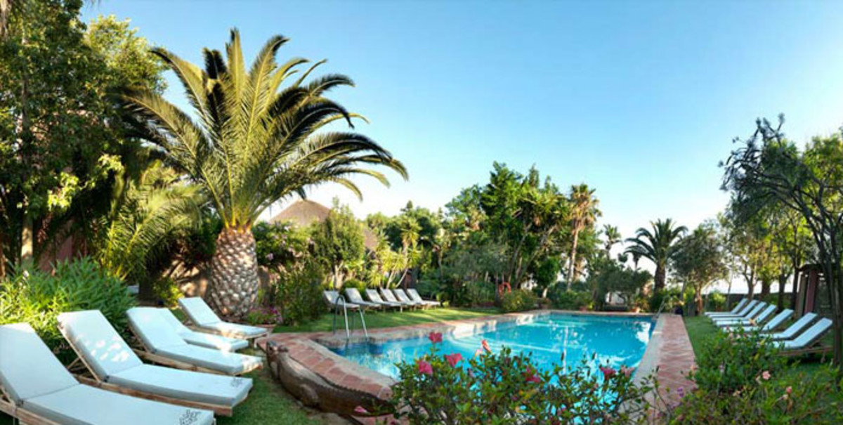 Imagen de la web del hotel 100% Fun de Tarifa.