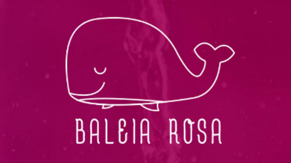 Imagen del juego en positivo de la Ballena Rosa.