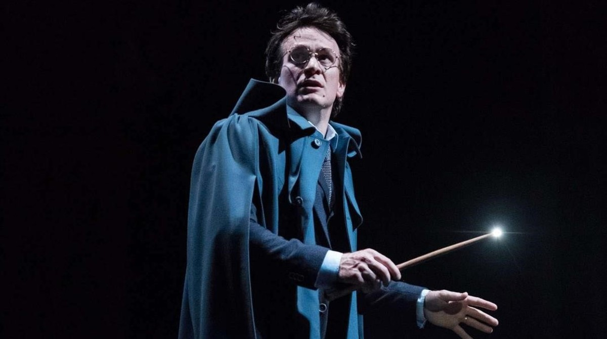 Jamie Parker, en el papel de Harry Potter en los ensatyos de Harry Potter and the cursed child
