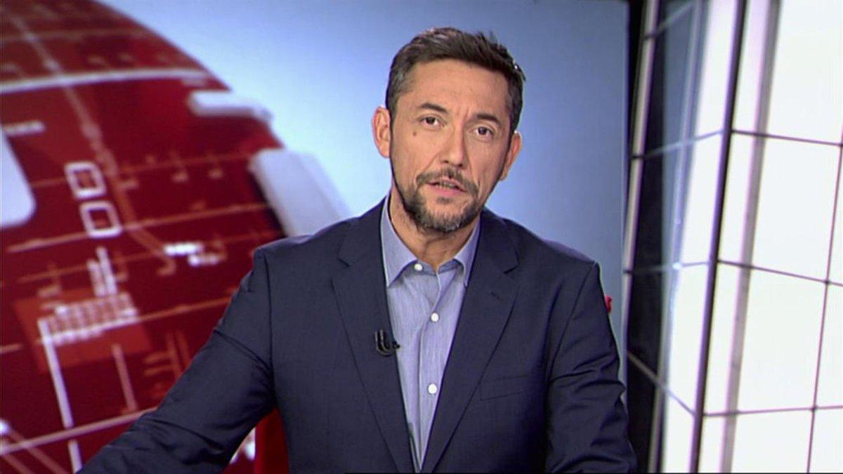 Javier Ruiz en 'Noticias Cuatro'.