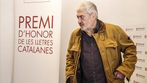 Quim Monzó guanya el 50 Premi d'Honor de les Lletres Catalanes