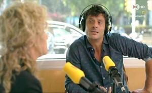 Joel Joan con Mònica Terribas en Catalunya Ràdio (El crac, TV-3).
