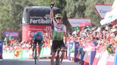 Ben King (EUA) s'imposa en la quarta etapa de la Vuelta a Espanya