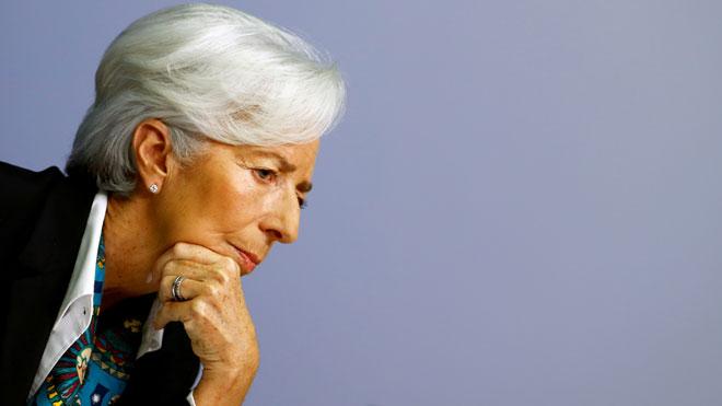 Lagarde advierte del riesgo de una crisis como la del 2008 a causa del coronavirus.