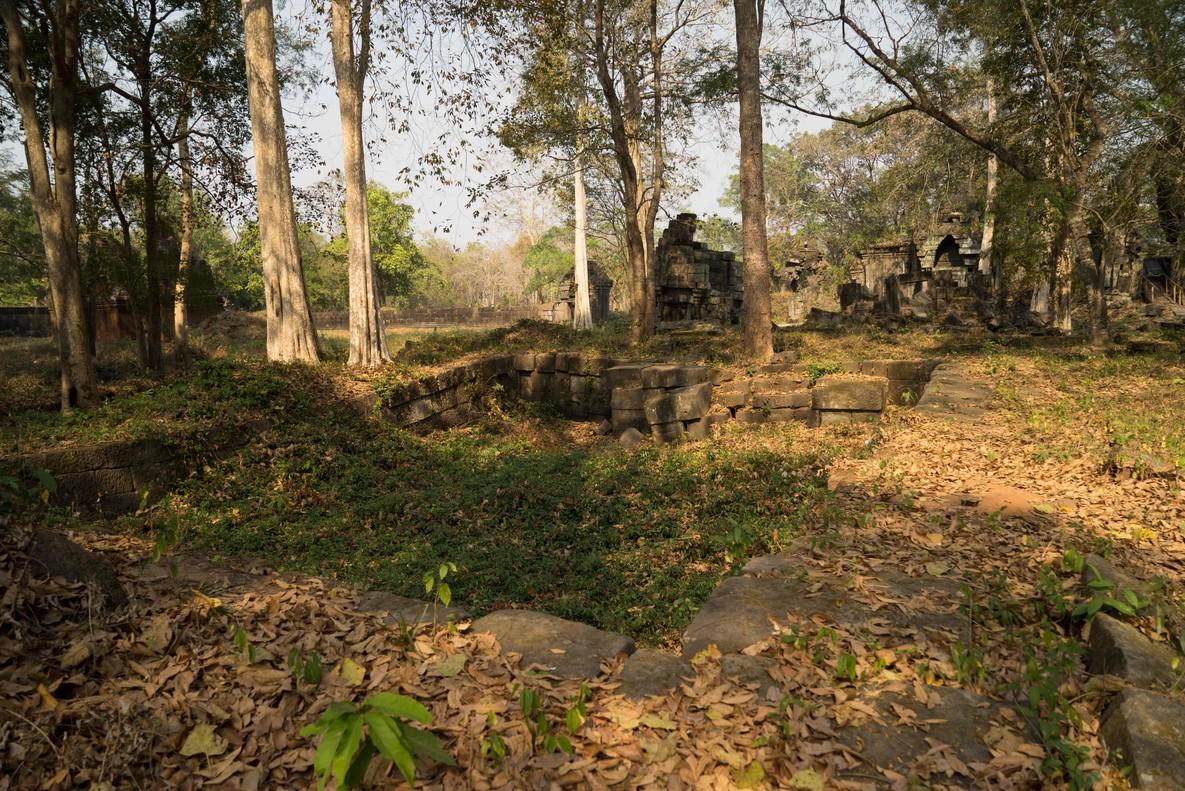 Las ruinas del templo de Preah Khan, en la provincia de Siem Reap.