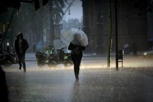 Avís per fortes pluges des d'aquest dimecres a Catalunya