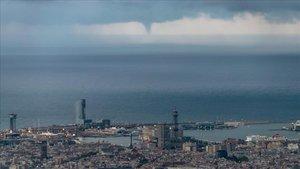 Las fotos de la lluvia en Barcelona