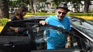 El multimillonario Guy Laliberté, en Papeete, en la Polinesia Francesa, este miércoles.