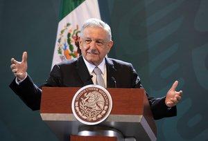 López Obrador, esta semana en México.