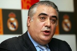 El expresidente del Real Madrid,Lorenzo Sanz.