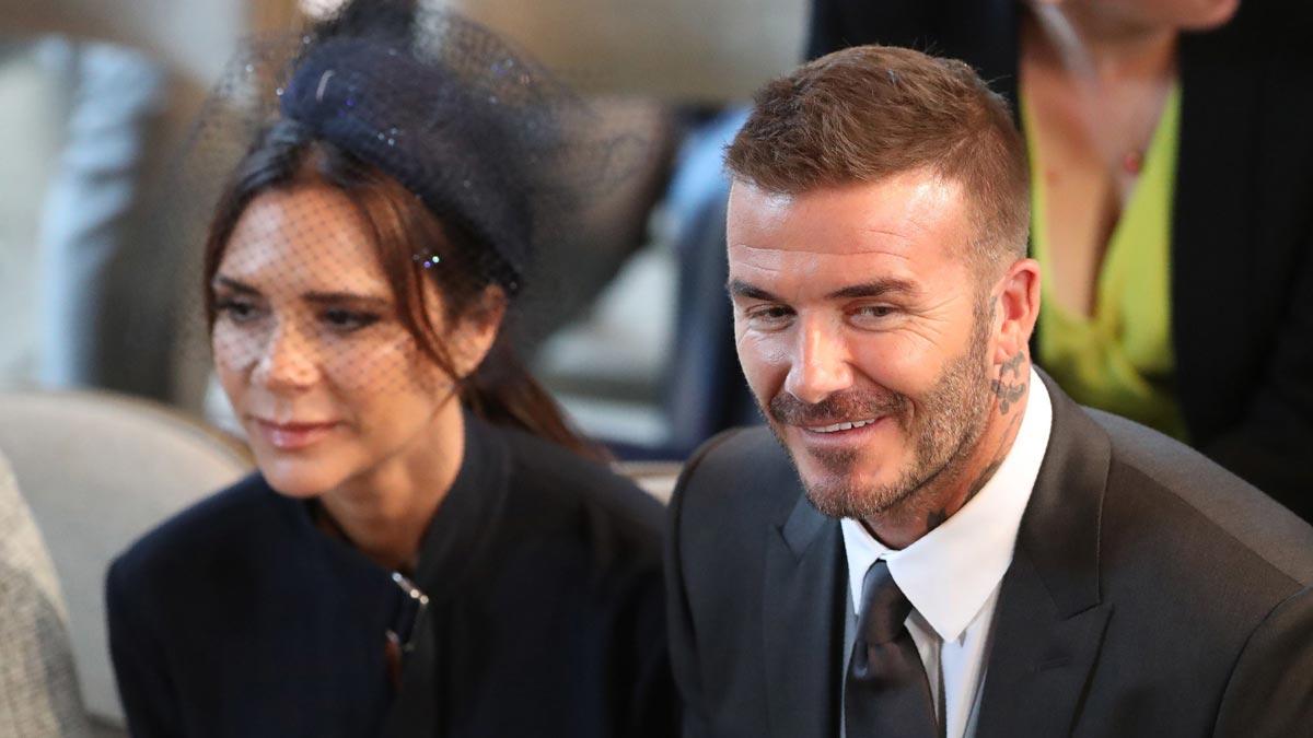 Los Beckham, atrapados por el seísmo en Indonesia.