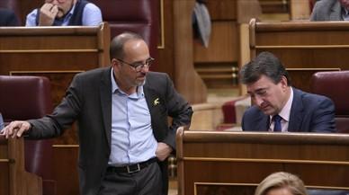 El PNV anticipó a PDECat y ERC que permitiría tramitar los Presupuestos