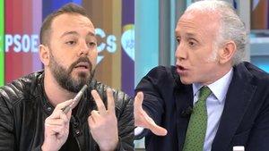 """Bochornoso espectáculo de Eduardo Inda y Antonio Maestre en 'AR': """"¡Tonta útil tu madre!"""""""