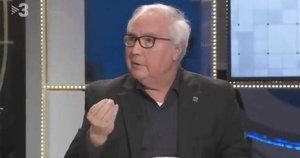 Manuel Castells, en una imagen de su intervención en 'FAQS'.