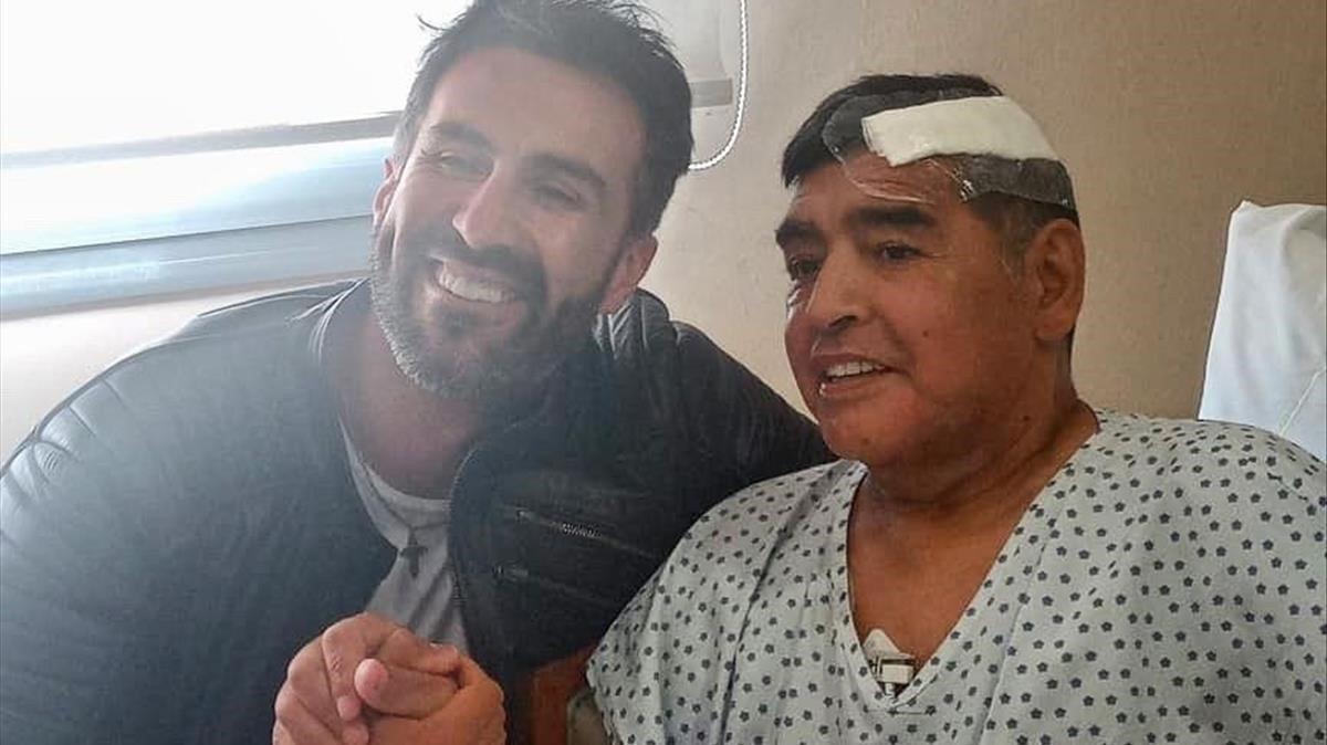 Diego Maradona continuará su recuperación en casa