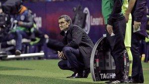 """Valverde: """"Estic molt content, l'any passat ens en van fer cinc aquí"""""""