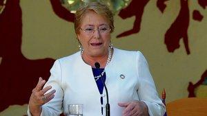 La Alta comisionada de la ONU para los Derechos Humanos, la chilena Michele Bachelet.
