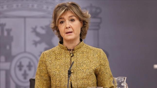 La ministra de Medio Ambiente, Isabel García Tejerina, el pasado viernes en la Moncloa.