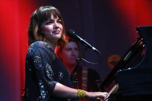Norah Jones, en un concierto en Londres.