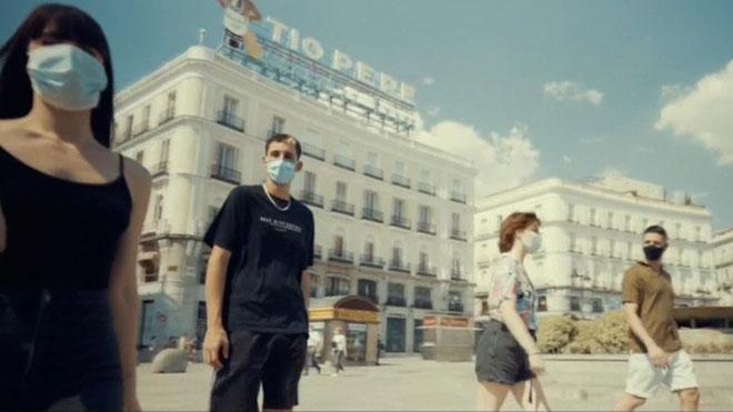Nuevo vídeo de la campaña 'Protégete, protégenos' de la Comunidad de Madrid.