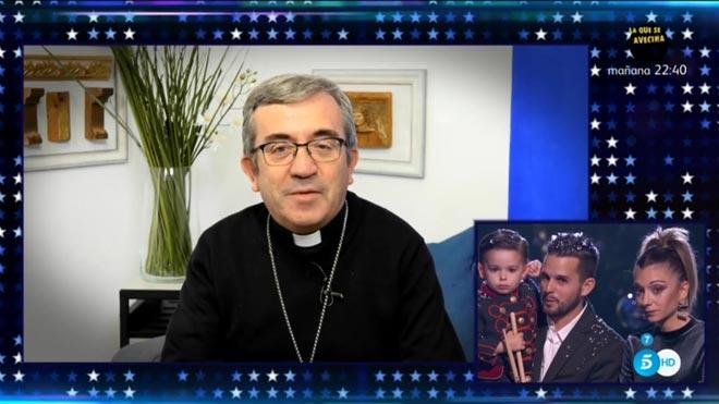 El obispo Argüello, en 'Got talent' (T-5).