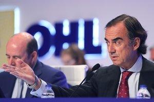 El presidente de OHL,Juan Villar-Mir de Fuentes, en la junta de accionistas.