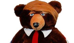 El osito de peluche Trumpy Bear.