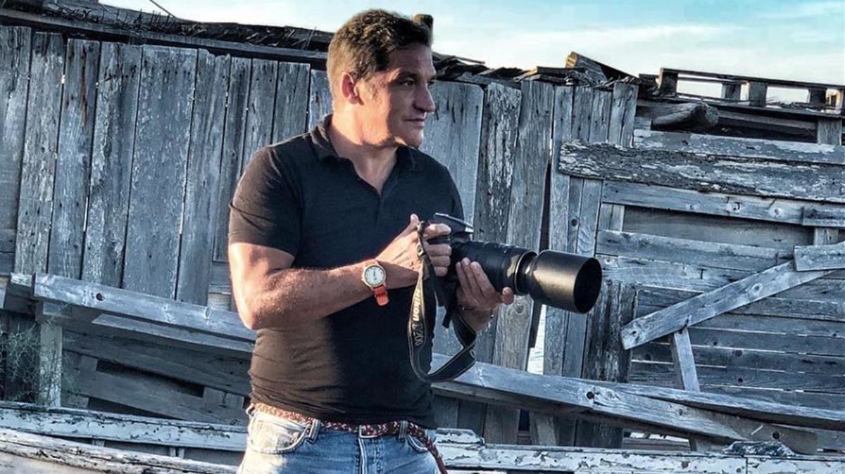 El paparazzi Gustavo González.