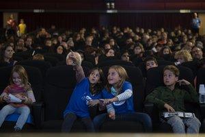 Los niños son los protagonistas de este festival de cine.