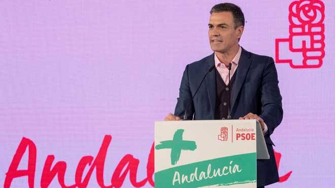 Pedro Sánchez pide una mayoría rotundapara que no haya bloqueos.