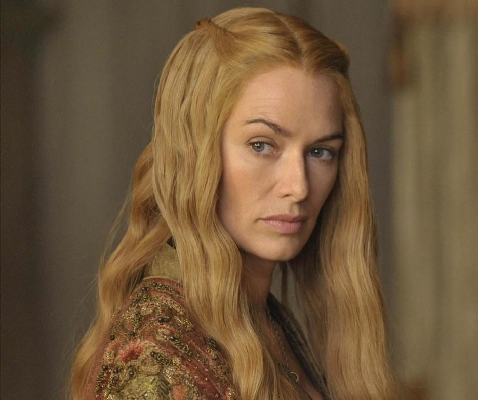 La actriz Lena Hadey da vida a Cersei Lannister en Juego de tronos.