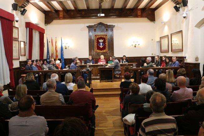 Pleno del Ayuntamiento de Esplugues de Llobregat.