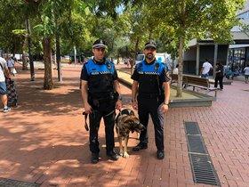 Policía Local de Esplugues de Llobregat.