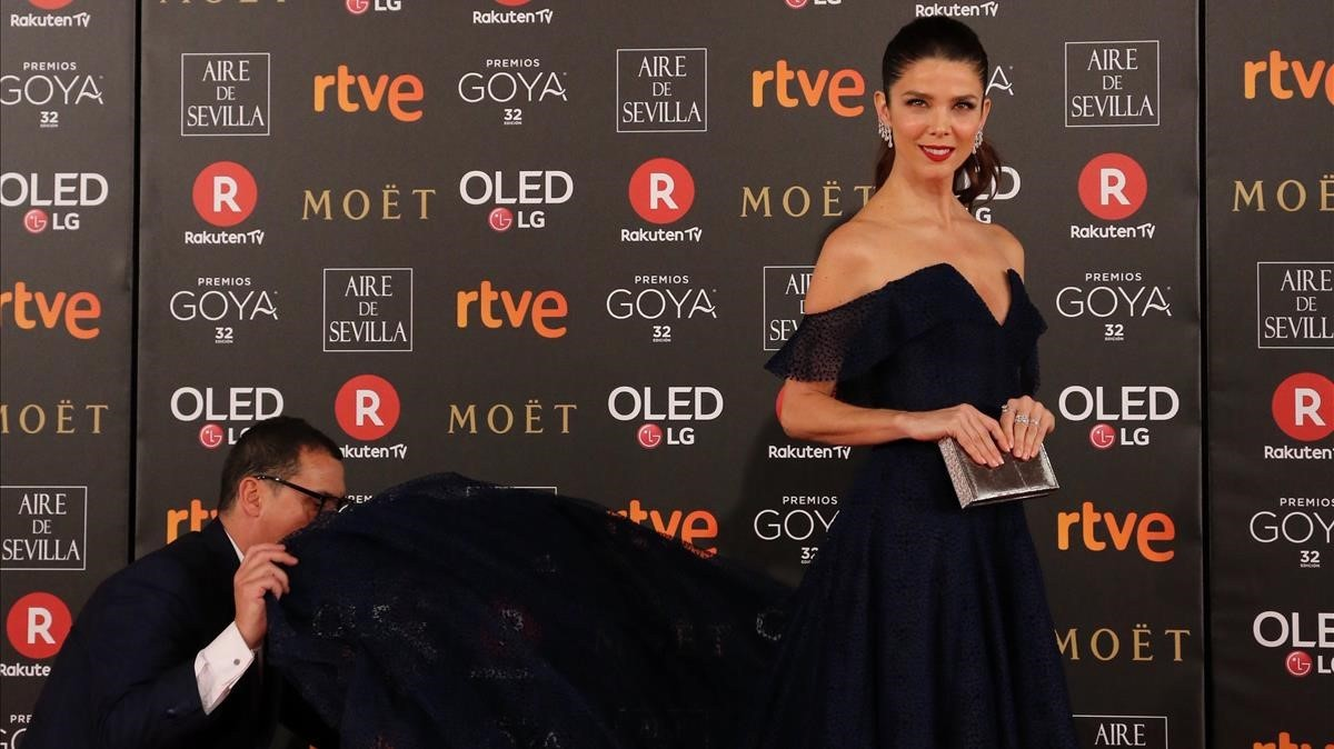 Premios Goya 2018. Juana Acosta.