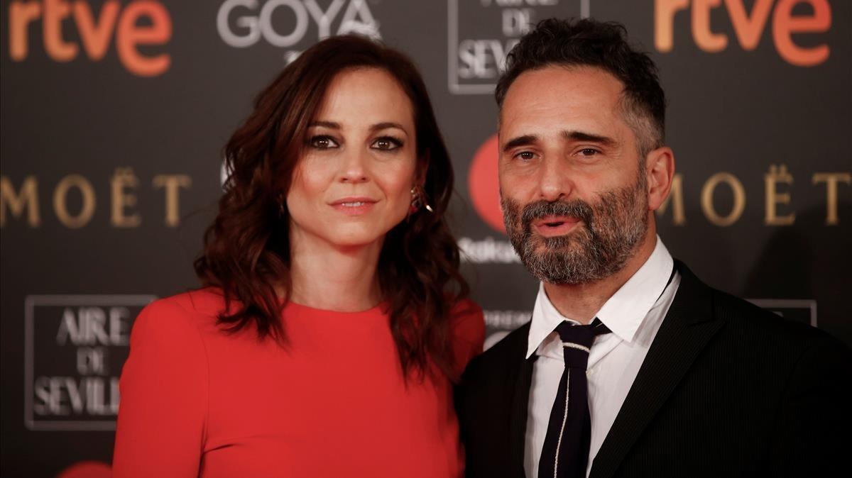 Premios Goya 2018. Leonor Watling y Jorge Drexler.