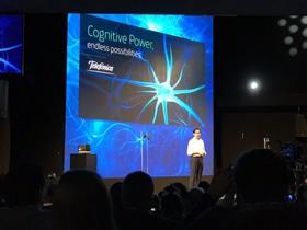Presentación de Telefónica en el Mobile World Congress.