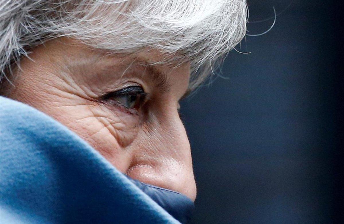 La primera ministra británica, Theresa May .