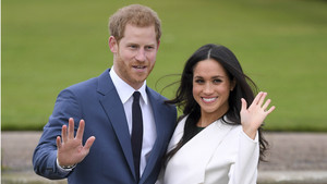 El Príncipe Harry y la actriz estadounidense Meghan Markle.
