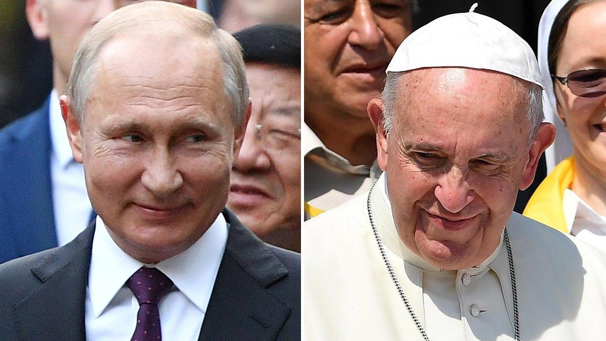 El Papa Francisco recibirá en audiencia al presidente ruso Vladimir Putin