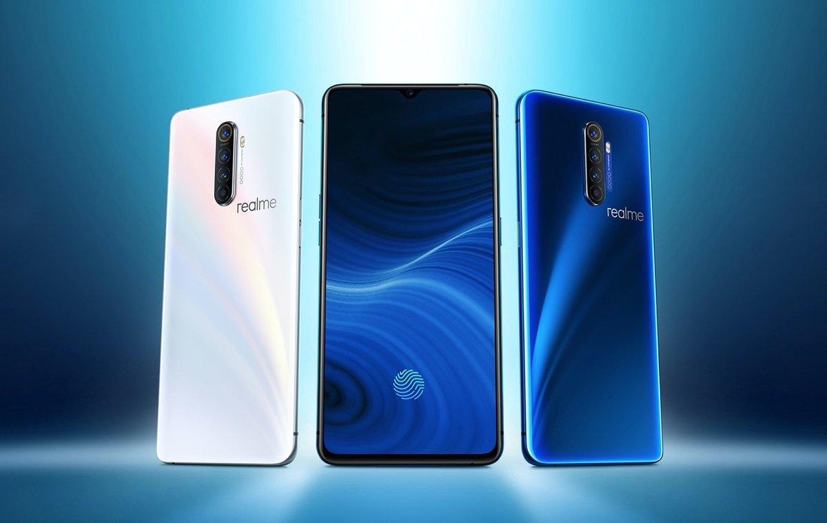 Llega al mercado la gama de móviles de Realme.