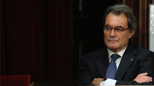 El Tribunal de Comptes imposa una fiança de 5,25 milions a Mas i tres exconsellers per la consulta del 9-N